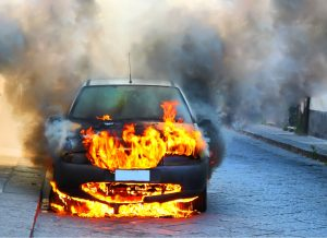 FIRE the cause for latest round of automotive recalls