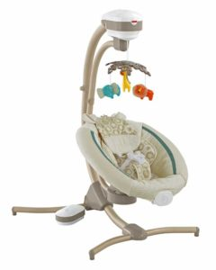 Fisher Price Issues Recall of Infant Cradle Swings due to Fall Hazards