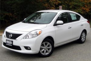 Nissan issues recall of over 54k 2012 VERSA cars due to airbag defects