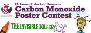 Consumer Product Safety Commission Hosts Carbon Monoxide Safety Poster Contest for Students!
