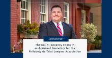 Thomas Sweeney - Philadelphia Personal Injury Attorneys