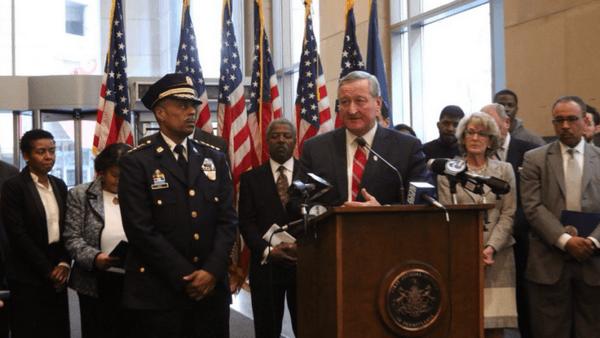 jim kenny, mayor kenny, philadelphia mayor, police brutality